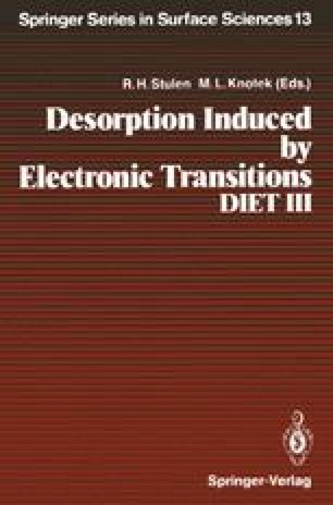 Desorption Induced by Electronic Transitions DIET III