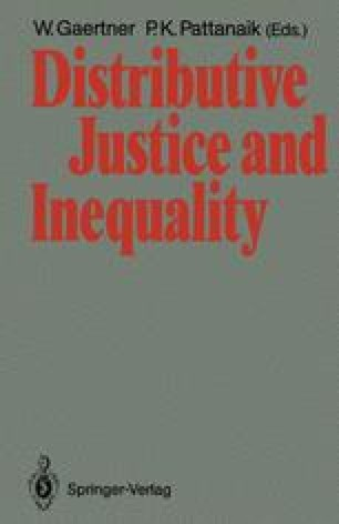 Distributive Justice and Inequality