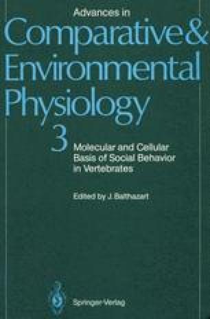 Molecular and Cellular Basis of Social Behavior in Vertebrates