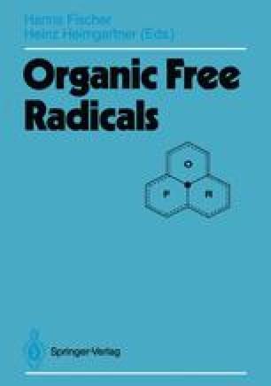Organic Free Radicals