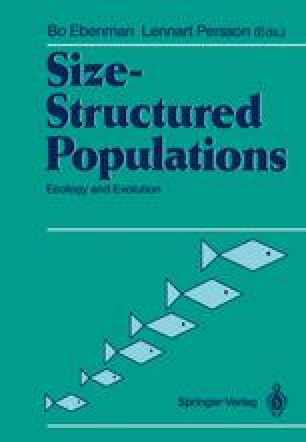 Size-Structured Populations