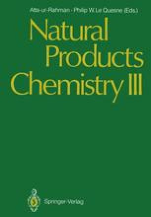 Natural Products Chemistry III