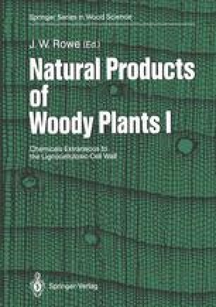 Natural Products of Woody Plants