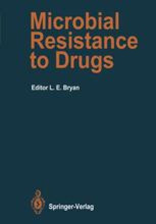 Microbial Resistance to Drugs