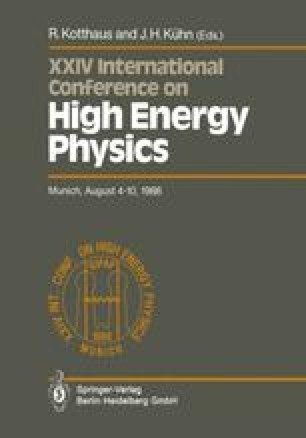 XXIV International Conference on High Energy Physics