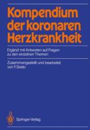 Kompendium der koronaren Herzkrankheit