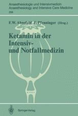 Ketamin in der Intensiv- und Notfallmedizin