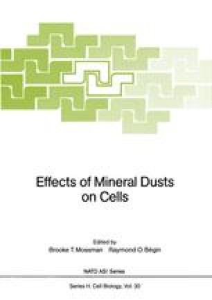 Effects of Mineral Dusts on Cells