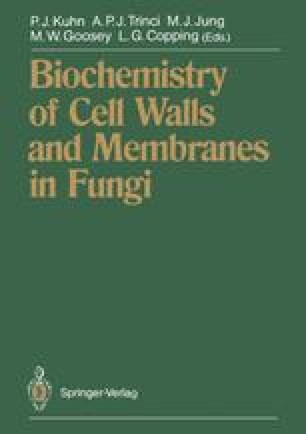 Biochemistry of Cell Walls and Membranes in Fungi