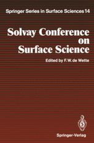 Solvay Conference on Surface Science