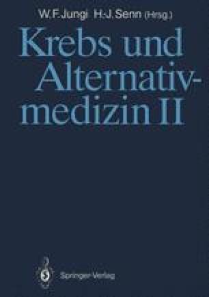 Krebs und Alternativmedizin II