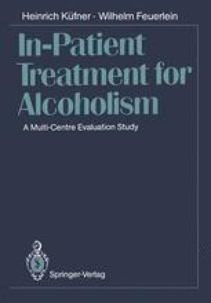 In-Patient Treatment for Alcoholism