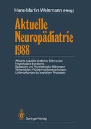 Aktuelle Neuropädiatrie 1988