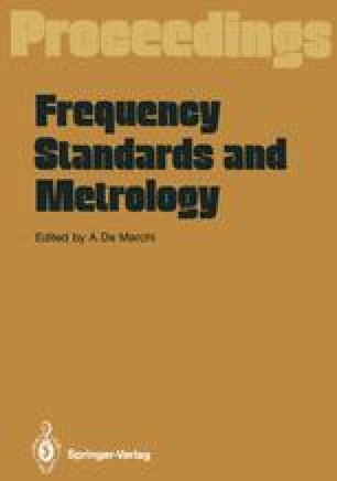 Frequency Standards and Metrology