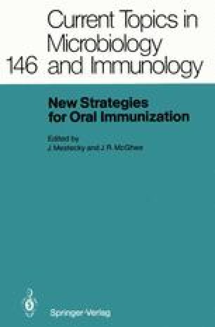 New Strategies for Oral Immunization