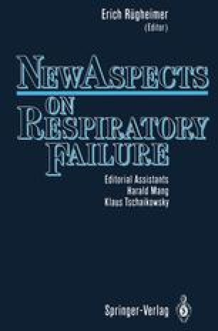 New Aspects on Respiratory Failure