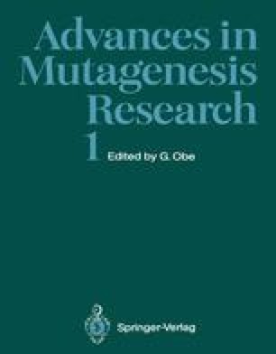 Advances in Mutagenesis Research