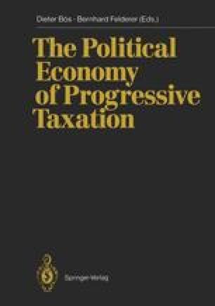 The Political Economy of Progressive Taxation