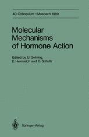 Molecular Mechanisms of Hormone Action