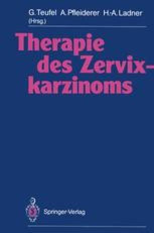 Therapie des Zervixkarzinoms