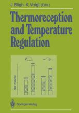 Thermoreception and Temperature Regulation