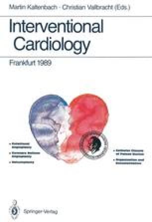Interventional Cardiology Frankfurt 1989