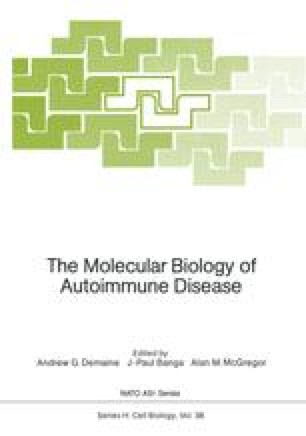 The Molecular Biology of Autoimmune Disease