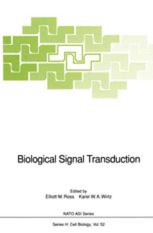 Biological Signal Transduction