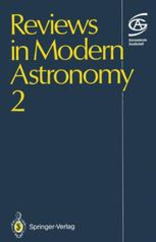 Reviews in Modern Astronomy 2