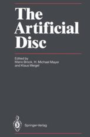 The Artificial Disc