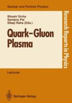 Quark—Gluon Plasma