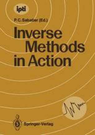 Inverse Methods in Action