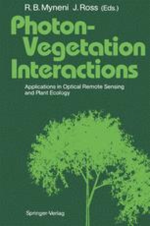 Photon-Vegetation Interactions