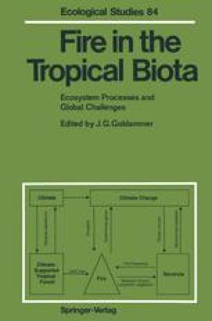 Fire in the Tropical Biota