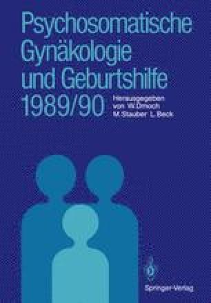 Psychosomatische Gynäkologie und Geburtshilfe 1989/90