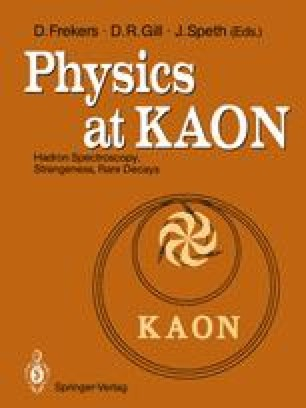 Physics at KAON