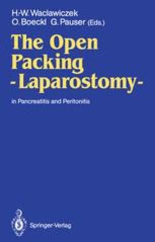 The Open Packing — Laparostomy —