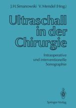 Ultraschall in der Chirurgie