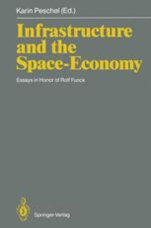 Infrastructure and the Space-Economy