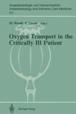Oxygen Transport in the Critically Ill Patient