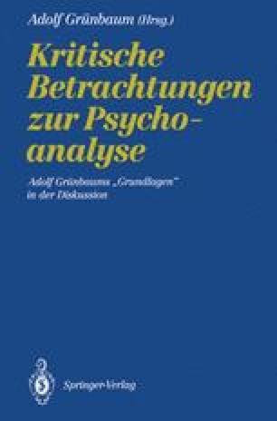 Kritische Betrachtungen zur Psychoanalyse