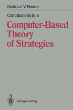 Contributions to a Computer-Based Theory of Strategies