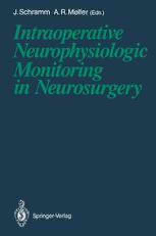 Monitoring of Spine Surgery with Evoked Potentials | SpringerLink
