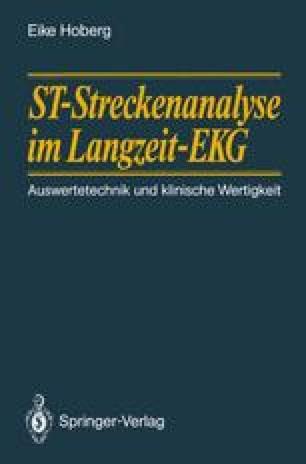 ST-Streckenanalyse im Langzeit-EKG