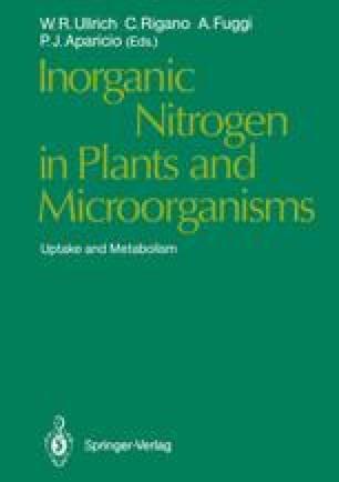 Inorganic Nitrogen in Plants and Microorganisms