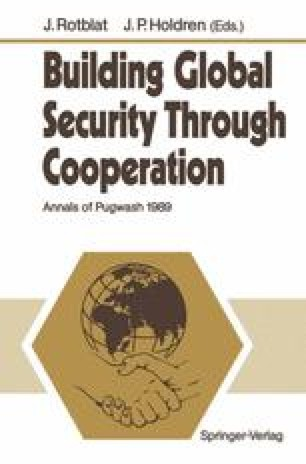 Building Global Security Through Cooperation