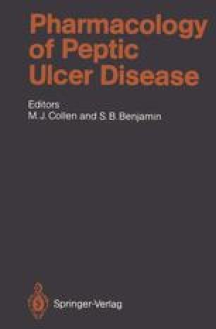 Pharmacology of Peptic Ulcer Disease