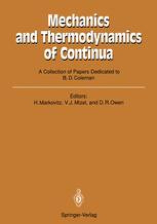 Mechanics and Thermodynamics of Continua