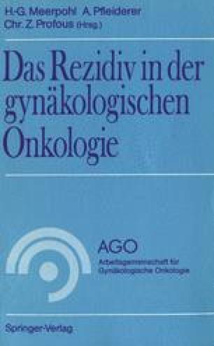 Das Rezidiv in der gynäkologischen Onkologie
