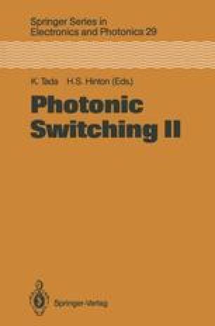 Photonic Switching II